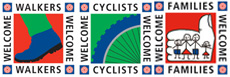 We welcome walkers, cyclists, pets and families